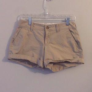 3 for $25 Old Navy khaki shorts. Size 0